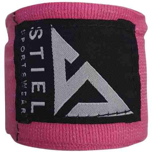 Stiel Bandage Volwassenen 450cm Roze - jokasport.nl