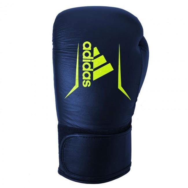 Adidas Speed 175 Bokshandschoenen Blauw met Geel - Jokasport.nl