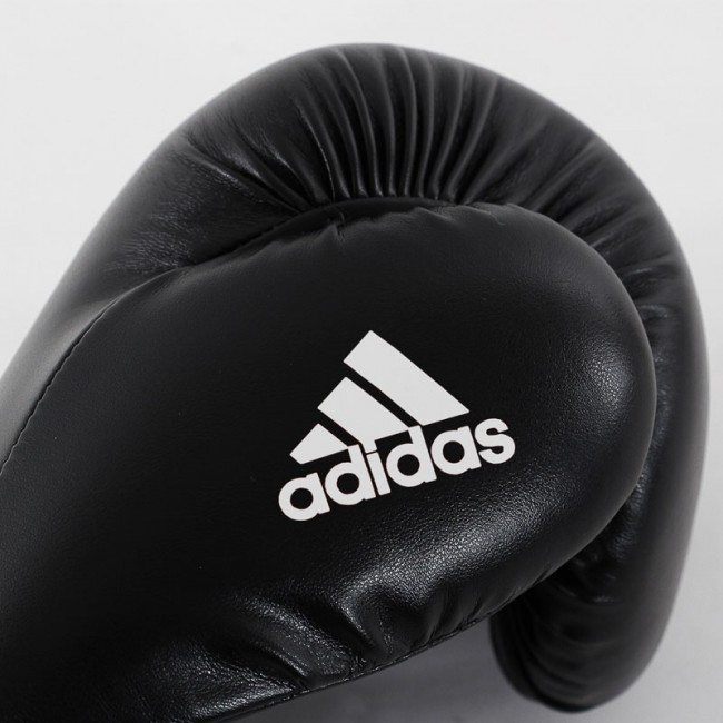 Adidas Speed 50 (Kick)Bokshandschoenen Zwart - Wit - jokasport.nl