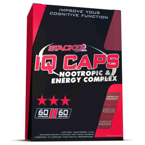 Stacker 2 IQ Caps (60 caps) - jokasport.nl