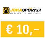 Cadeaubon € 10,00 – jokasport.nl