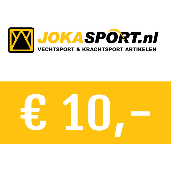 Cadeaubon € 10,00 - jokasport.nl