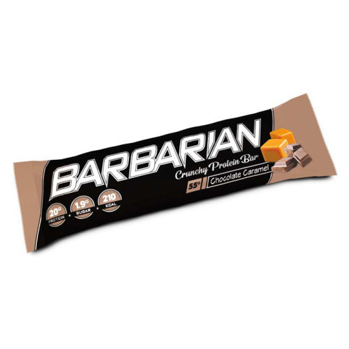 Stacker 2 Barbarian Proteïne Reep - Chocolade Karamel - jokasport.nl