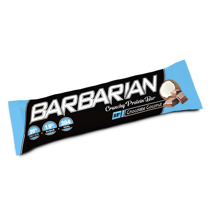 Stacker 2 Barbarian Proteïne Reep - Chocolade Kokosnoot- jokasport.nl