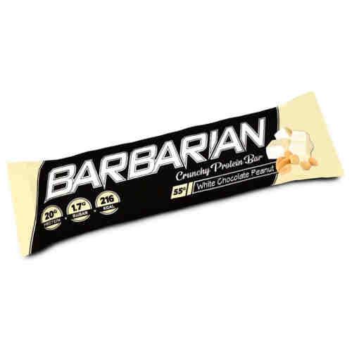 Stacker 2 Barbarian Proteïne Reep - Witte Chocolade Pinda - jokasport.nl