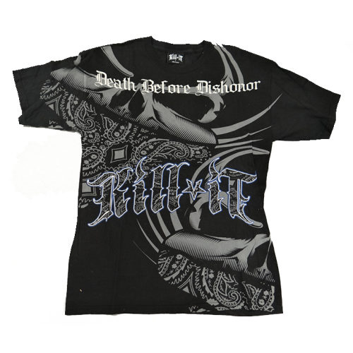 KILL IT T-SHIRT DEATH BEFORE DISHONOR - jokasport.nl