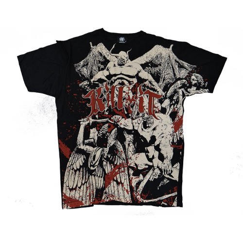 KILL IT T-SHIRT DEVIL - jokasport.nl