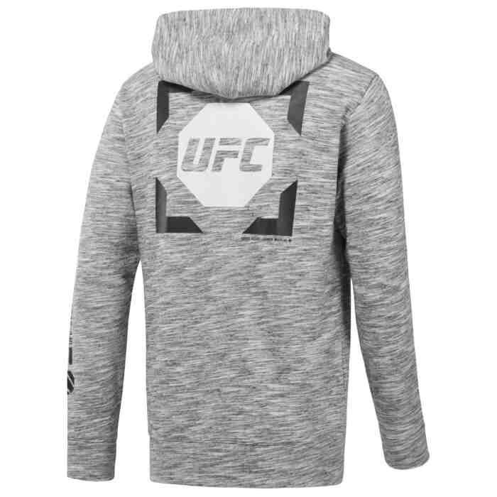 Reebok UFC FG Zip Hoodie - Grijs - jokasport.nl
