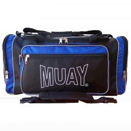 Muay sporttas blauw-zwart - jokasport.nl