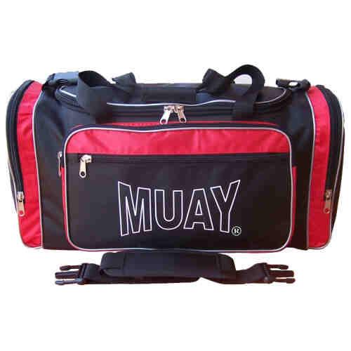 MUAY Sporttas rood/zwart - jokasport.nl