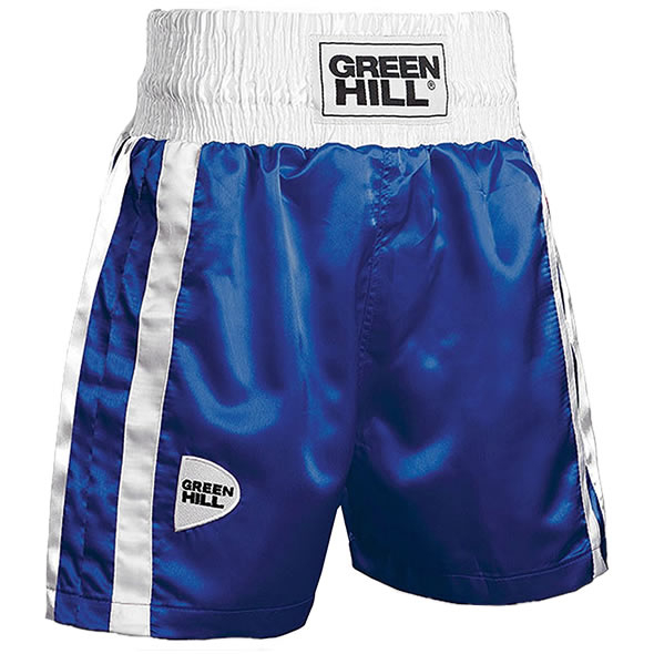 Green Hill Boksshort Elite Blauw - jokasport.nl