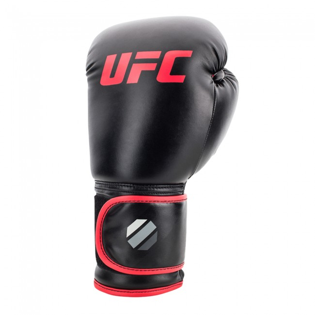 UFC Contender Muay Bokshandschoenen Zwart Rood - Jokasport.nl