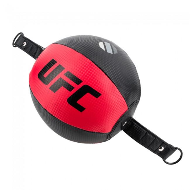 UFC Contender PU Double End Ball 20 cm Zwart Rood-Jokasport.nl