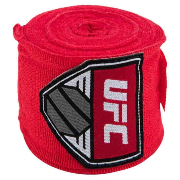 UFC Bandage 455cm Rood - jokasport.nl