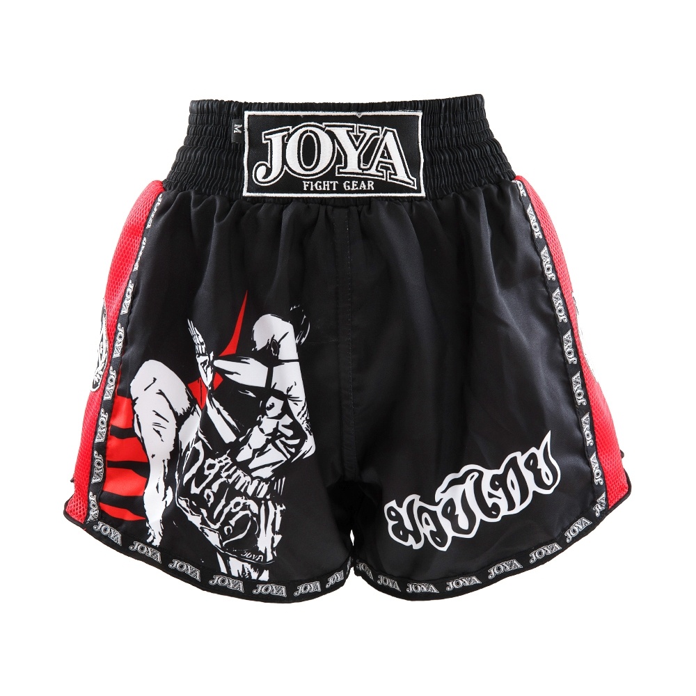 Joya Kickboksshort Fighter Junior Rood - Jokasport.nl