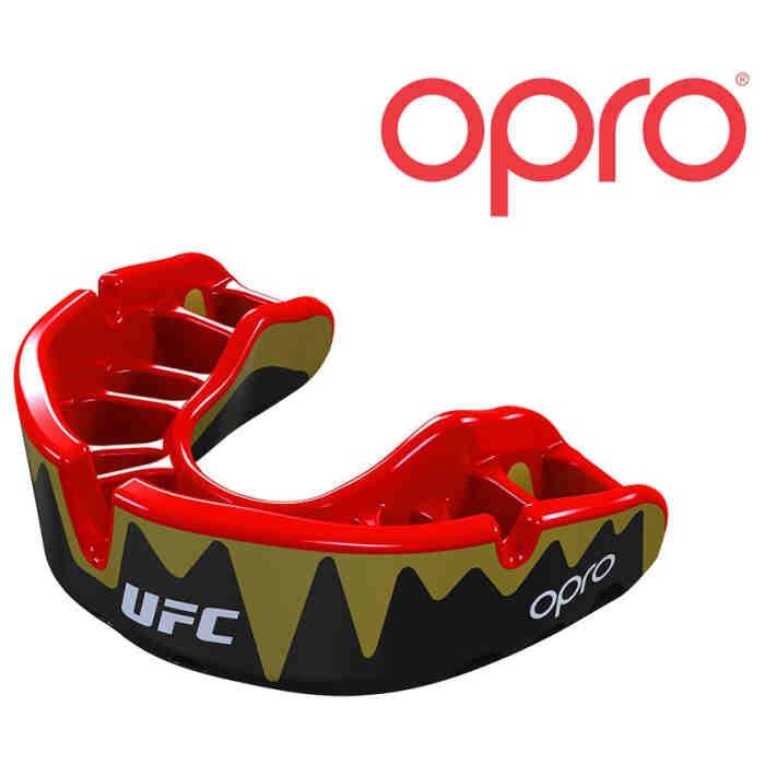 UFC Gebitsbeschermer Platinum Zwart Rood Goud - Jokasport.nl