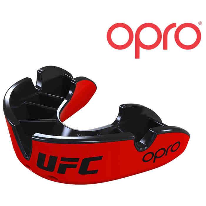 UFC Gebitsbeschermer Silver Rood Zwart- Jokasport.nl