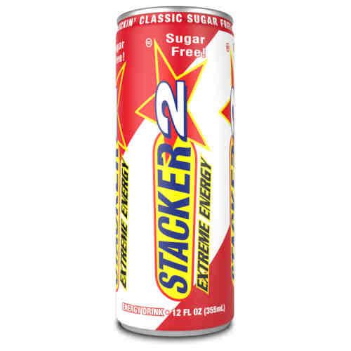 Stacker 2 Extreme Energy Suikervrij 355ml - Jokasport.nl
