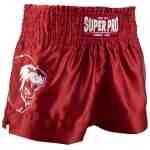 Super Pro Kickboksshort Hero Rood/Wit – Jokasport.nl