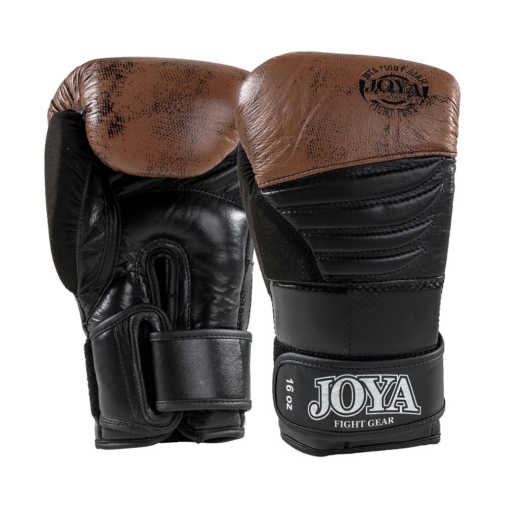 Joya Falcon (Kick)bokshandschoenen zwart/bruin - Jokasport.nl