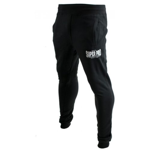 Super Pro Jogging Pants Zwart/Wit-0