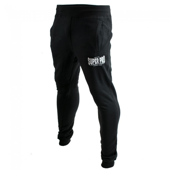 Super Pro Jogging Pants Zwart/Wit-0
