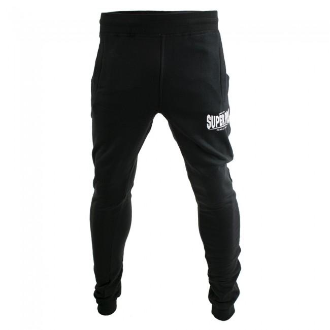 Super Pro Jogging Pants Zwart/Wit-530611
