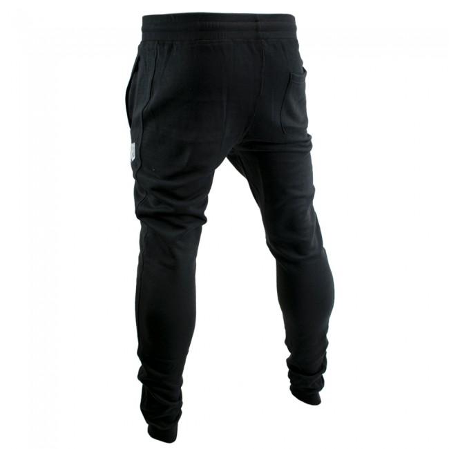 Super Pro Jogging Pants Zwart/Wit-530612