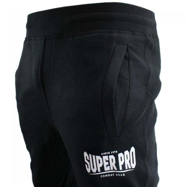 Super Pro Jogging Pants Zwart/Wit-530613