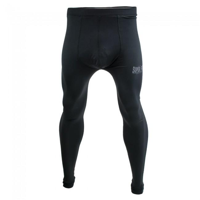 Super Pro Legging Men Lion/Super Pro Logo Zwart/Grijs-312146