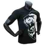 Super Pro T-Shirt Lion Logo – Katoen – Zwart/Wit-0