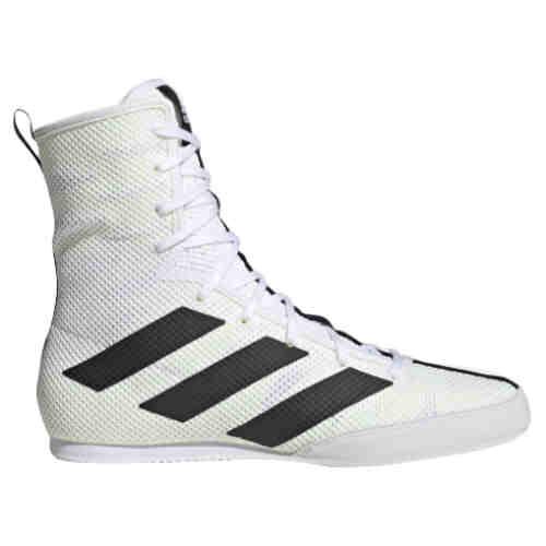 Adidas Box Hog 3 Boksschoenen Wit met zwart - jokasport.nl