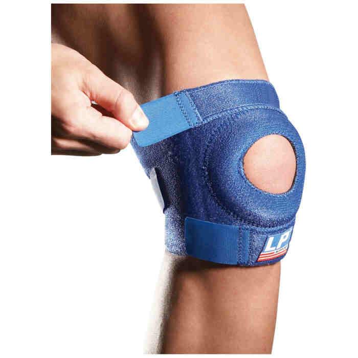 LP Support Open Patella Knee Support Blauw-0