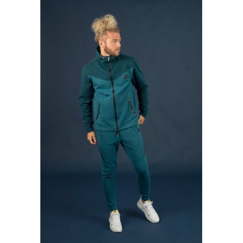 M Double You Tech Jogger Blauw - Jokasport.nl