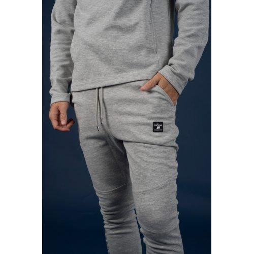 M Double You Jogger Patch Grijs - jokasport.nl
