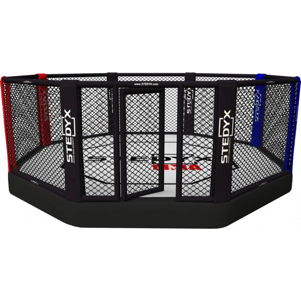 Professionele MMA Kooi (octagon, 40cm vloerhoogte) - jokasport.nl