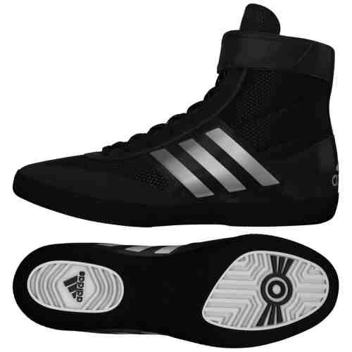 Adidas Combat Speed 5 Worstelschoen Zwart - Zilver-0