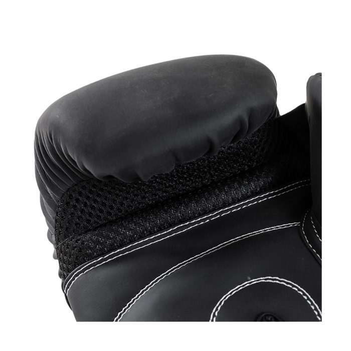 Joya Slim Fit Kickbokshandschoenen Kunstleer - Zwart-541701