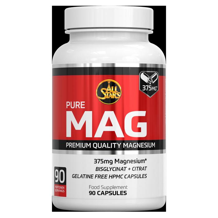 All Stars Pure MAG Magnesium Supplement 90 porties - jokasport.nl