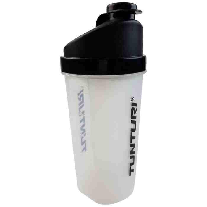 Tunturi Protein Shaker - Shakebeker met zeef - 700ml-0