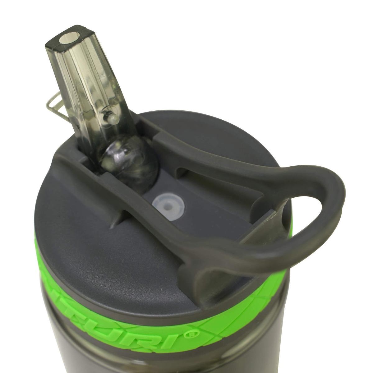 TUNTURI WATERFLES / BIDON DE LUXE – 600 ML MET DRINKTUIT – jokasport.nl