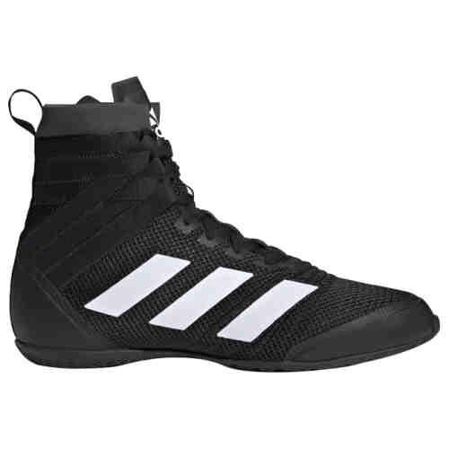 Adidas Speedex 18 Boksschoenen - Zwart - Wit - jokasport.nl
