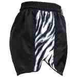 Joya Dames Tiger Kickboks Broekje – Zwart – Wit-541937