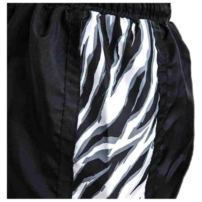 Joya Dames Tiger Kickboks Broekje - Zwart - Wit-541938