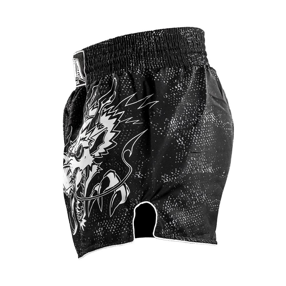 Joya Dragon Kickboks Broekje – Zwart – Wit-541955