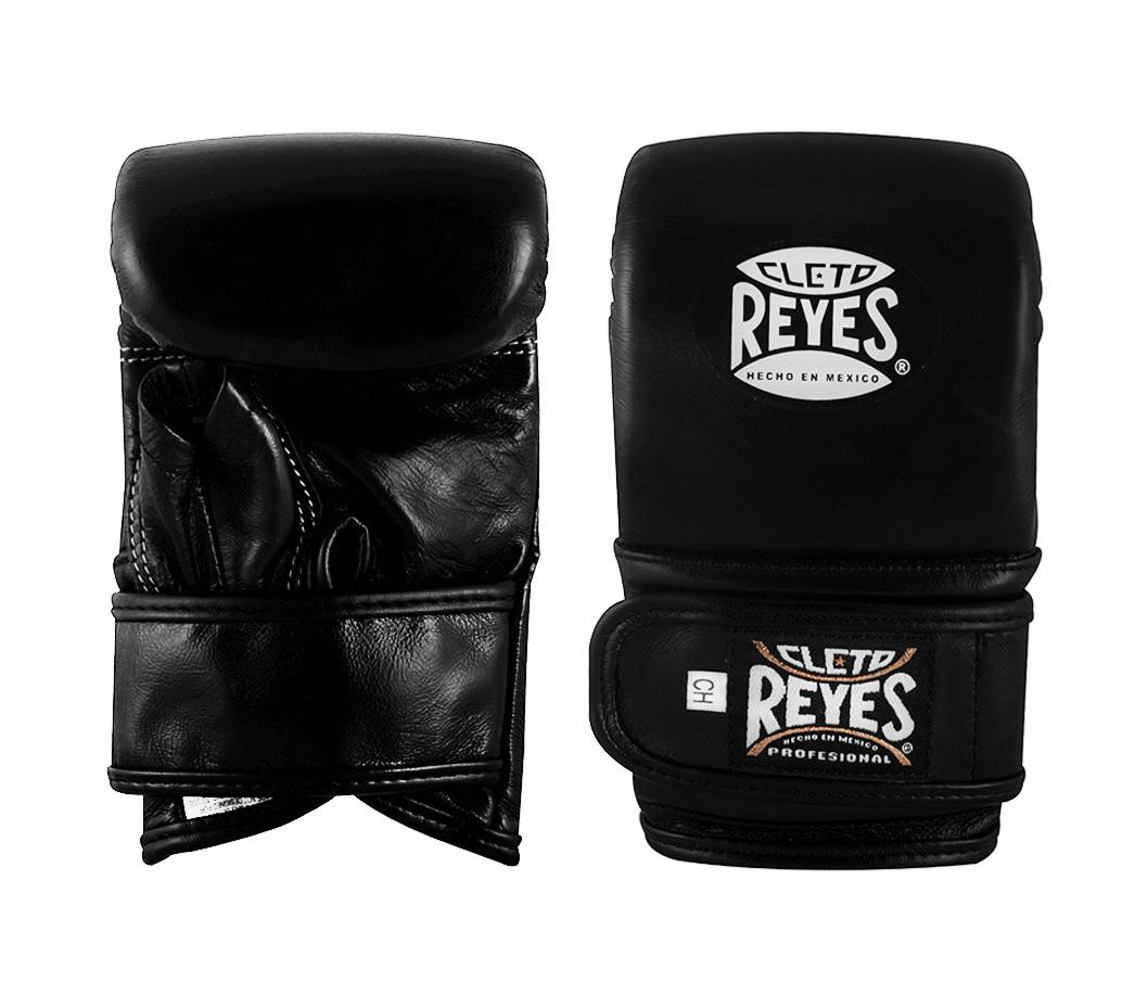 Cleto Reyes Zakhandschoenen - Velcro - Leer - Zwart-0