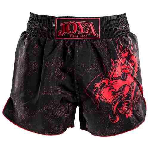 Joya Dragon Kickboks Broekje - Zwart - Rood - Jokasport.nl