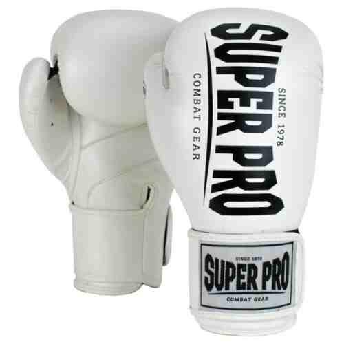 Super Pro Champ Bokshandschoenen Wit/Zwart-0