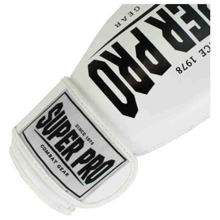 Super Pro Champ Bokshandschoenen Wit/Zwart-340133