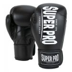 Super Pro Champ Bokshandschoenen Zwart/Wit-0